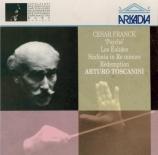 FRANCK - Toscanini - Psyché, poème symphonique pour chœur et orchestre F