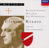 STRAUSS - Krauss - Don Juan, pour grand orchestre op.20