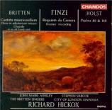BRITTEN - Hickox - Cantata misericordium (Wilkinson), pour solistes, pet