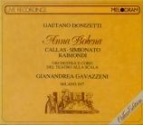 DONIZETTI - Gavazzeni - Anna Bolena (live Scala Di Milano, 14 - 04 - 1957) live Scala Di Milano, 14 - 04 - 1957