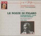 MOZART - Böhm - Le nozze di Figaro (Les noces de Figaro), opéra bouffe e Live Salzburg 30 - 7 - 1957