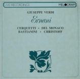 VERDI - Mitropoulos - Ernani, opéra en quatre actes live Firenze 14 - 6 - 1957