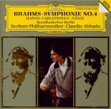 BRAHMS - Abbado - Symphonie n°4 pour orchestre en mi mineur op.98