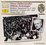 BRAHMS - Furtwängler - Symphonie n°2 pour orchestre en ré majeur op.73