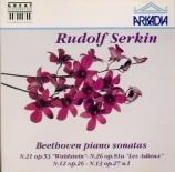 BEETHOVEN - Serkin - Sonate pour piano n°21 op.53 'Waldstein'