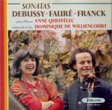 DEBUSSY - Williencourt - Sonate pour violoncelle et piano en ré mineur L