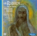 FAURE - Thomas - Requiem pour voix, orgue et orchestre en ré mineur op.4