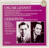 GERSHWIN - Levant - Rhapsody in blue