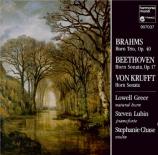 BRAHMS - Greer - Trio pour piano, violon et cor en mi bémol majeur op.40