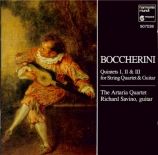 BOCCHERINI - Artaria Quartet - Quintette pour guitare, deux violons, alt