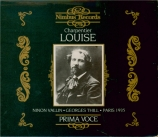 CHARPENTIER - Bigot - Louise : extraits version abrégée + livret détaillé avec une très riche iconographie