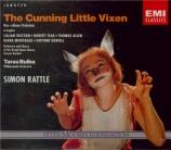JANACEK - Rattle - La petite renarde rusée, opéra (en anglais) en anglais