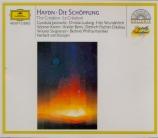 HAYDN - Karajan - Schöpfung (Die) Hob.XXI.2 (La Création)