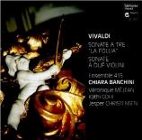 VIVALDI - Banchini - Sonate pour deux violons et b.c. en ré mineur d'apr