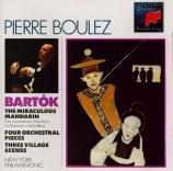 BARTOK - Boulez - Quatre pièces pour orchestre op.12 Sz.51