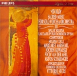 Sacred Music for Solo Voices & Orchestra Vol.3