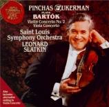 BARTOK - Slatkin - Concerto pour violon n°2 Sz.112 BB.117