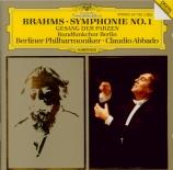 BRAHMS - Abbado - Symphonie n°1 pour orchestre en do mineur op.68