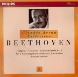 BEETHOVEN - Arrau - Concerto pour piano n°5 en mi bémol majeur op.73 'L'