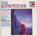 VERDI - Giulini - Quattro pezzi sacri (Quatre pièces sacrées)