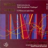 WIDOR - Baker - Toccata (Symphonie n°5)