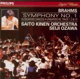 BRAHMS - Ozawa - Symphonie n°1 pour orchestre en do mineur op.68