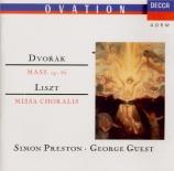 DVORAK - Preston - Messe op.86