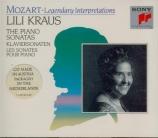 MOZART - Kraus - Sonate pour piano n°11 en la majeur K.331 (K6.300i) 'Al