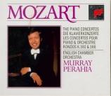 MOZART - Perahia - Concerto pour piano et orchestre n°9 en mi bémol maje