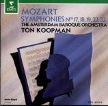 MOZART - Koopman - Symphonie n°32 en sol majeur K.318