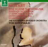 MOZART - Koopman - Sérénade n°6, pour deux petits orchestres en ré majeu