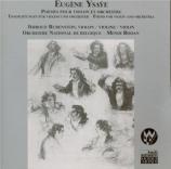 Poèmes pour violon et orchestre