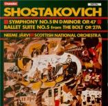 CHOSTAKOVITCH - Järvi - Symphonie n°5 op.47