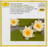 BRAHMS - Fassbaender - Rhapsodie (Goethe), mélodie pour alto et chœur ma