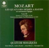 MOZART - Quatuor Mosaïqu - Quatuor à cordes n°18 en la majeur K.464