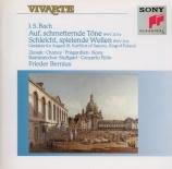 BACH - Bernius - Auf, schmetternde Töne der muntern Trompeten, cantate p