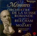 MOZART - Beecham - Symphonie n°31 en ré majeur K.297 (K6.300a) 'Paris'