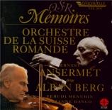 """BERG - Ansermet - Concerto pour violon 'Dem Andenken eines Engels"""" (A la"""