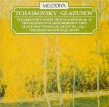 TCHAIKOVSKY - Leningrad Philh - Trio pour piano, violon et violoncelle e