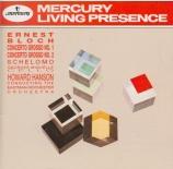 BLOCH - Hanson - Concerto grosso pour piano et orchestre à cordes n°1