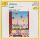 FRANCK - Barenboim - Symphonie pour orchestre enrémineur FWV.48