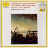 CHOSTAKOVITCH - Rostropovich - Concerto pour violoncelle n°2 op.126