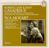 MOZART - Casadesus - Concerto pour piano et orchestre n°15 en si bémol m