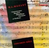 MOZART - Concerto Köln - Concerto pour flûte, harpe et orchestre en do m