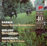 HINDEMITH - Marlboro Ensemb - Octuor