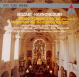 MOZART - Harnoncourt - Missa Dominicus en do majeur, pour solistes, chœu