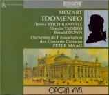 MOZART - Maag - Idomeneo, rè di Creta (Idoménée, roi de Crète), opéra se live Aix-en-Provence, 23 - 7 - 1963