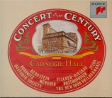 Concert of the Century Carnegie Hall 18/5/76