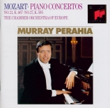 MOZART - Perahia - Concerto pour piano et orchestre n°21 en do majeur K