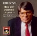 MOZART - Tate - Symphonie n°26 K.184